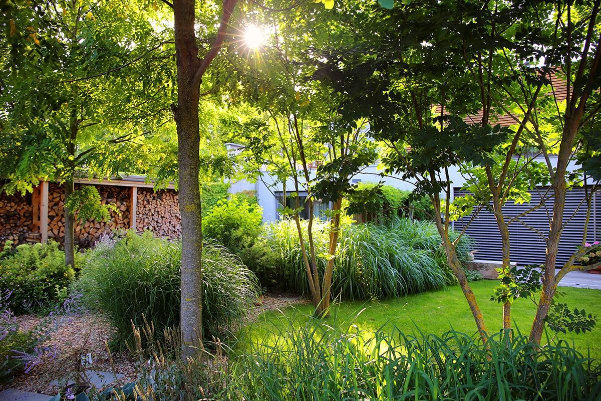Zahrada s vodopádem | Zahrady Hauf